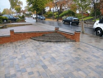 laying paving in west midlands